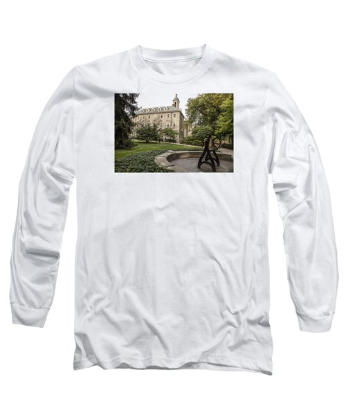 Old Main Penn State Bell  Long Sleeve T-Shirt by John McGraw