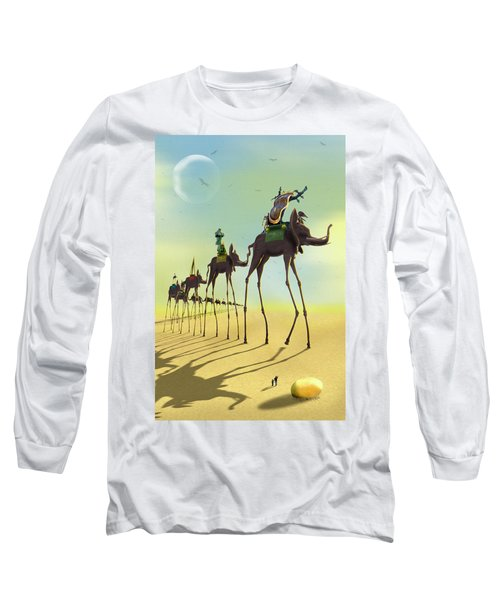 On The Move 2 Long Sleeve T-Shirt by Mike McGlothlen