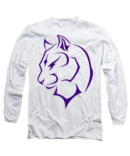 Panther Long Sleeve T-Shirt by Frederick Holiday