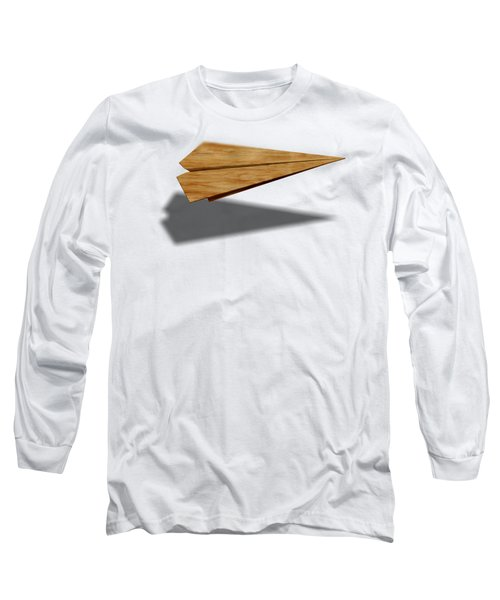 Paper Airplanes Of Wood 9 Long Sleeve T-Shirt by YoPedro