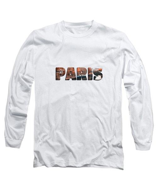 Paris In Fall Long Sleeve T-Shirt by Konstantin Sevostyanov