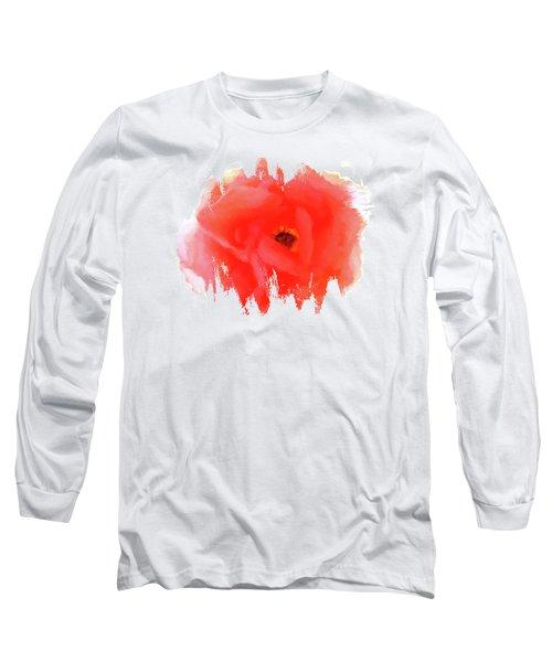 Peachy Keen Long Sleeve T-Shirt by Anita Faye