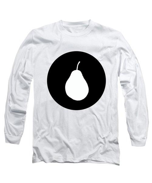 Pear Long Sleeve T-Shirt by Mordax Furittus