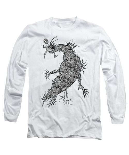 Pheasant Long Sleeve T-Shirt by Raf Podowski
