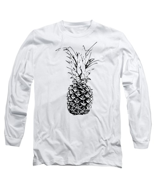 Pineapple Long Sleeve T-Shirt by Daniel Precht