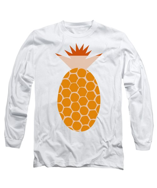Pineapple Long Sleeve T-Shirt by Frank Tschakert