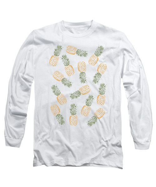 Pineapples Long Sleeve T-Shirt by Rui Faria