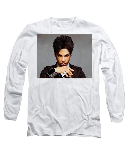 Prince Long Sleeve T-Shirt by Paul Tagliamonte