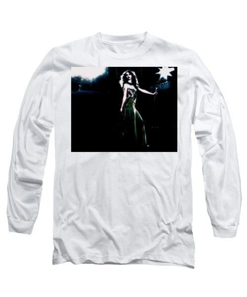 Queen Taylor Long Sleeve T-Shirt by Brian Reaves