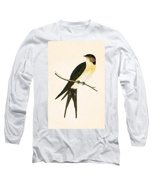 Rufous Swallow Long Sleeve T-Shirt by English School