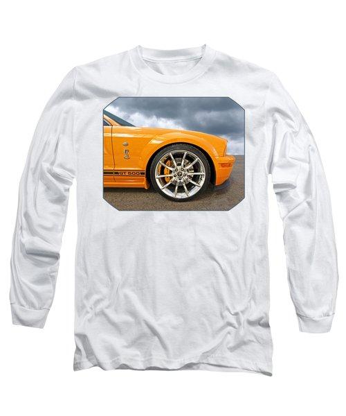 Shelby Gt500 Wheel Long Sleeve T-Shirt by Gill Billington
