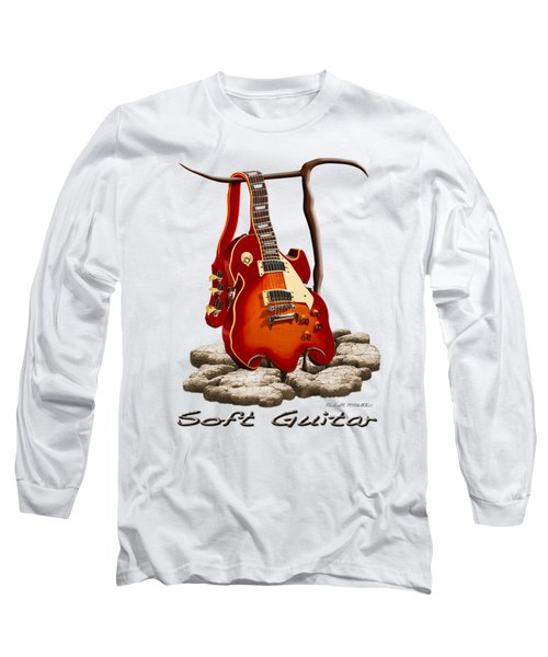 Soft Guitar - 3 Long Sleeve T-Shirt by Mike McGlothlen