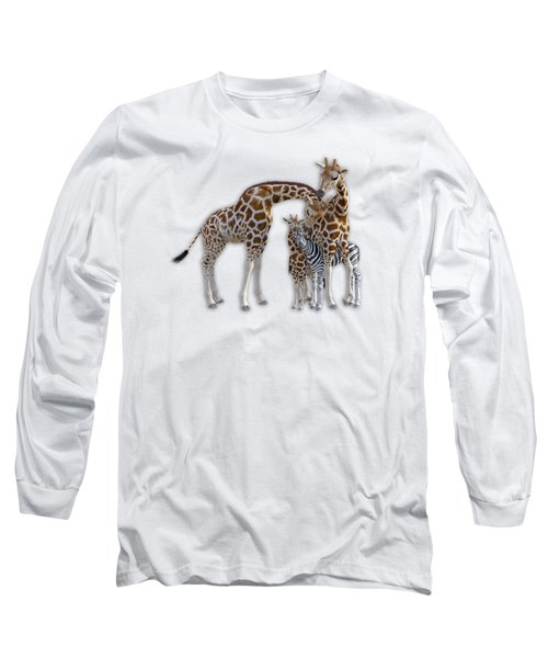 Sometimes You Have To Find The Right Spot To Fit In Long Sleeve T-Shirt by Betsy Knapp