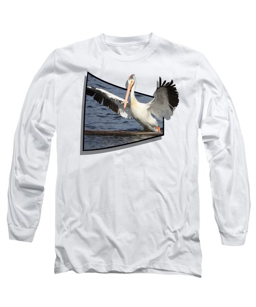 Spread Your Wings Long Sleeve T-Shirt by Shane Bechler