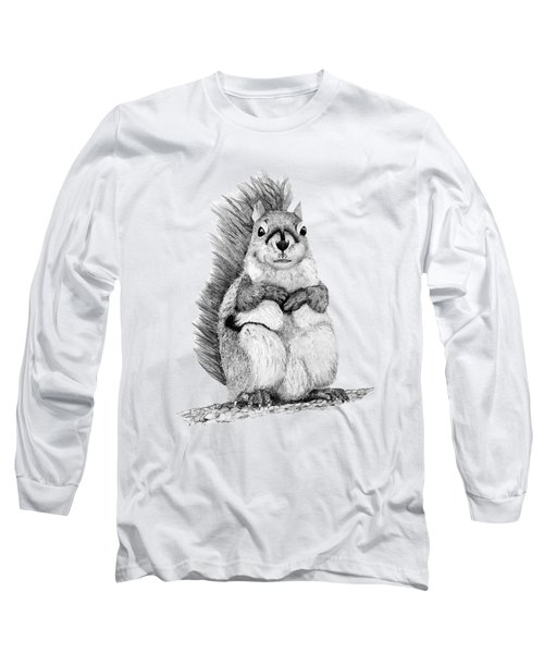 Squirrel Long Sleeve T-Shirt by John Stuart Webbstock