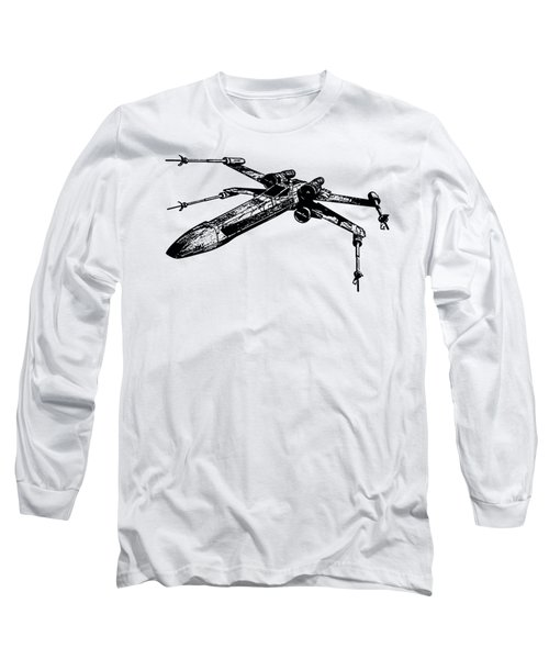 Star Wars T-65 X-wing Starfighter Tee Long Sleeve T-Shirt by Emf