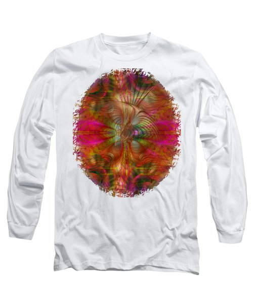 Strawberry Fields Abstract Long Sleeve T-Shirt by Sharon and Renee Lozen