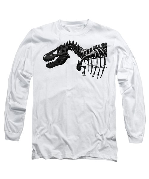 T-rex Long Sleeve T-Shirt by Martin Newman