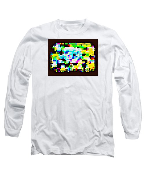 Techno Rainbow Long Sleeve T-Shirt by Andy Rhodes