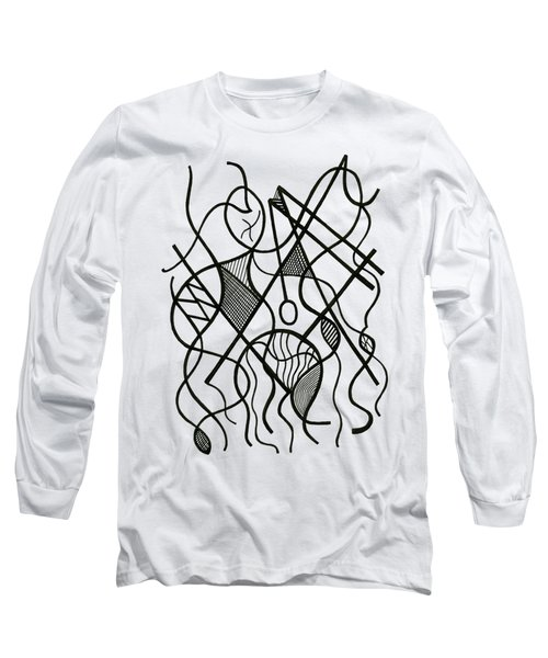 Tennis Anyone? Long Sleeve T-Shirt by Rachel Knight