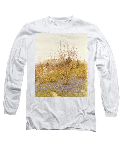 The Cuckoo Long Sleeve T-Shirt by Helen Allingham