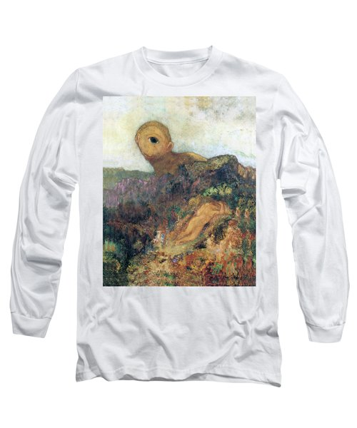 The Cyclops Long Sleeve T-Shirt by Odilon Redon