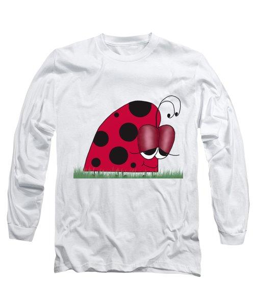 The Euphoric Ladybug Long Sleeve T-Shirt by Michelle Brenmark