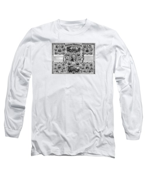 The Great National Memorial Long Sleeve T-Shirt by War Is Hell Store