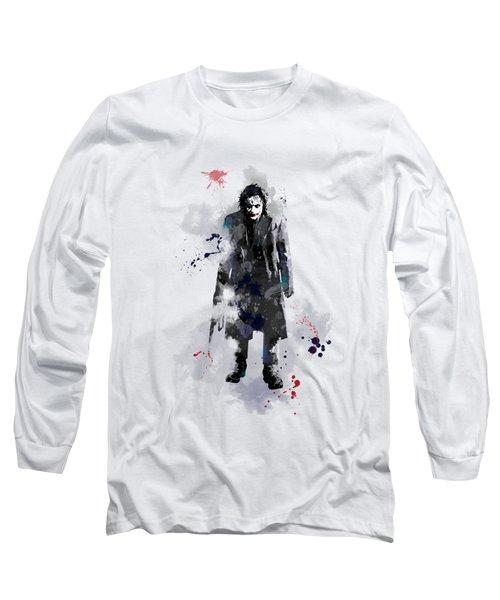 The Joker Long Sleeve T-Shirt by Marlene Watson
