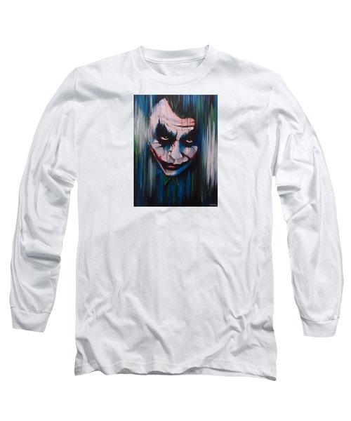 The Joker Long Sleeve T-Shirt by Michael Walden