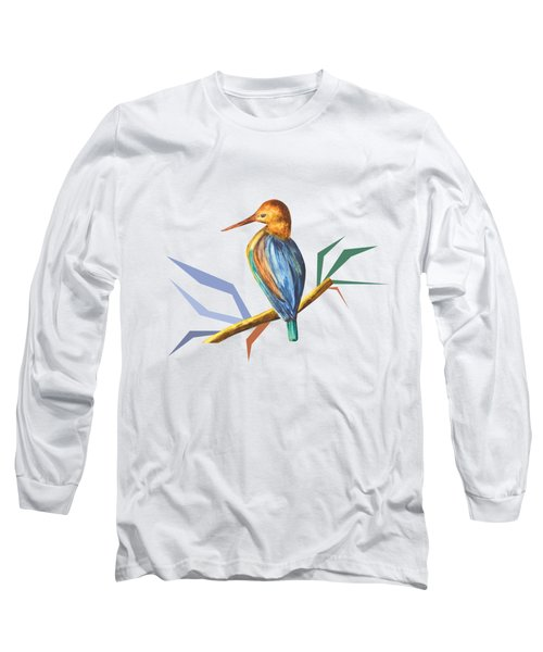The King Appeared B Long Sleeve T-Shirt by Thecla Correya