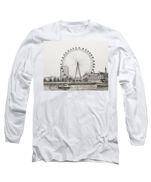 The London Eye Long Sleeve T-Shirt by Vincent Alexander Booth