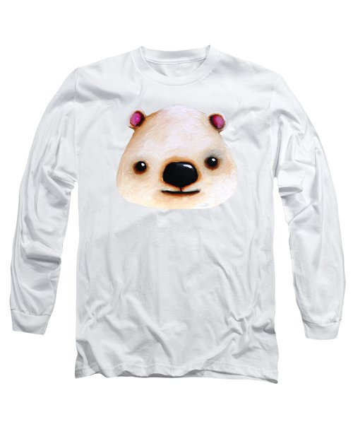 The Polar Bear Long Sleeve T-Shirt by Lucia Stewart