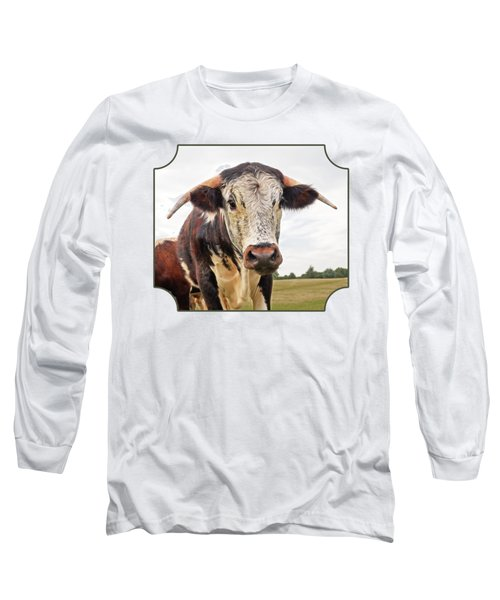This Is My Field Long Sleeve T-Shirt by Gill Billington