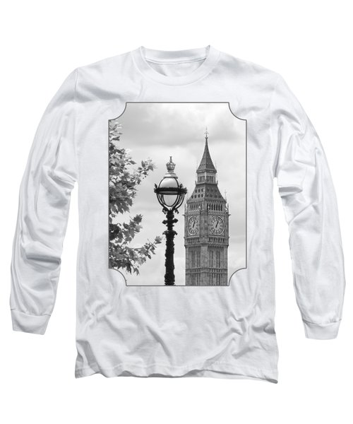 Time For Lunch Long Sleeve T-Shirt by Gill Billington