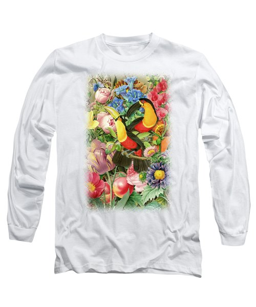 Toucans Long Sleeve T-Shirt by Gary Grayson