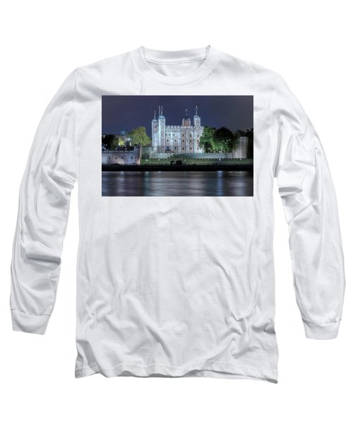Tower Of London Long Sleeve T-Shirt by Joana Kruse