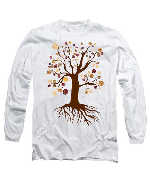 Tree Long Sleeve T-Shirt by Frank Tschakert
