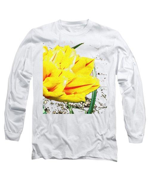 Tulip 3 Long Sleeve T-Shirt by Vesna Martinjak