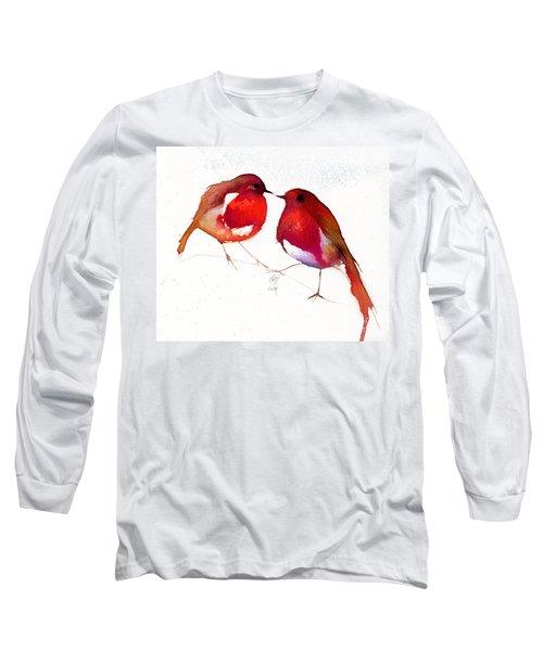 Two Little Birds Long Sleeve T-Shirt by Nancy Moniz