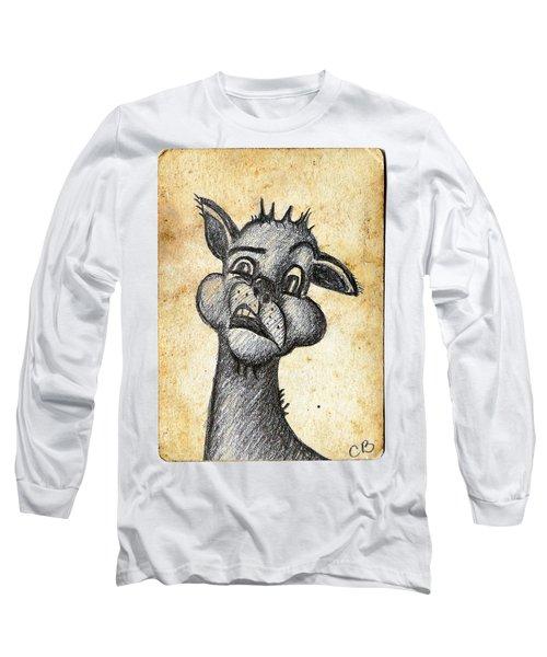Uhm Long Sleeve T-Shirt by Cristina Bercea