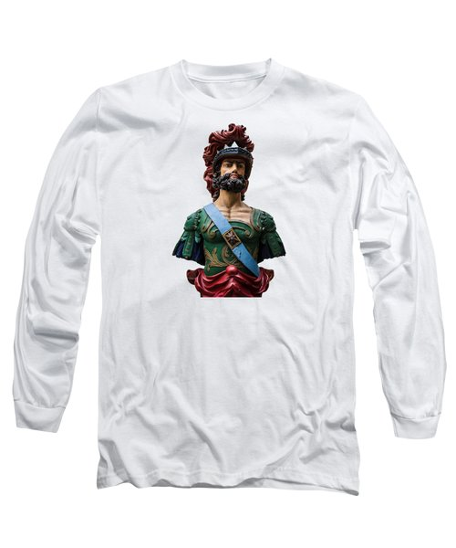 Vintage Ships Bust Long Sleeve T-Shirt by Martin Newman