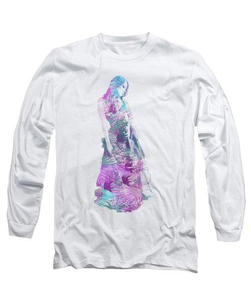 Viva La Vida Long Sleeve T-Shirt by Linda Lees