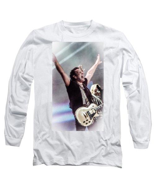 Vivian Campbell - Campbell Tough Long Sleeve T-Shirt by Luisa Gatti
