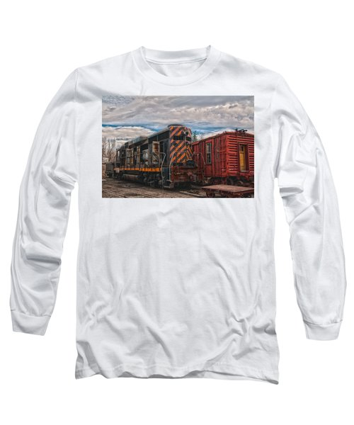 Waiting For Work Long Sleeve T-Shirt by Michael Connor