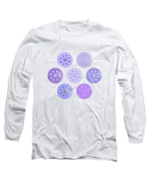 Watercolor Lovely Pattern II Long Sleeve T-Shirt by Amir Faysal