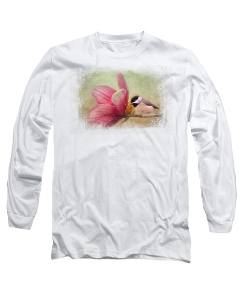 Welcome Spring Long Sleeve T-Shirt by Jai Johnson