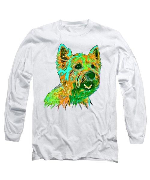 West Highland Terrier Long Sleeve T-Shirt by Marlene Watson