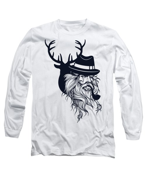 Wise Wild Long Sleeve T-Shirt by Argd