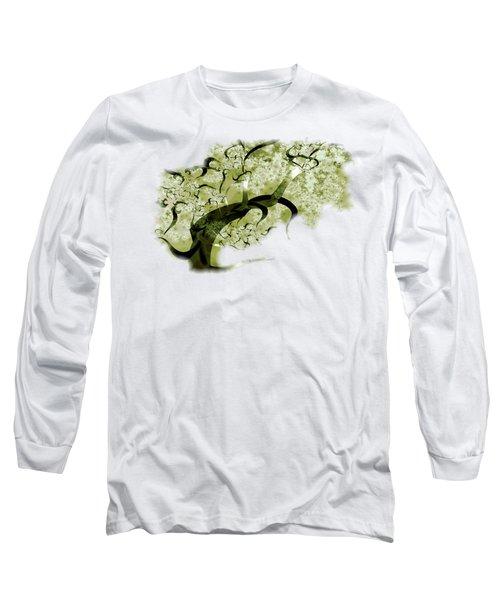 Wishing Tree Long Sleeve T-Shirt by Anastasiya Malakhova